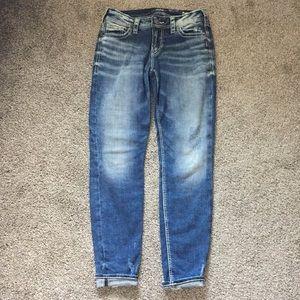 Silver Jeans Co Suki Super Stretch Jeans